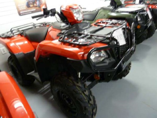 2018 Honda TRX500 Rubicon DCT IRS EPS Red Photo 2 of 3