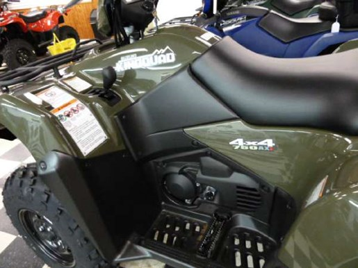2018 Suzuki KingQuad 750AXi Power Steering Green Photo 3 of 5