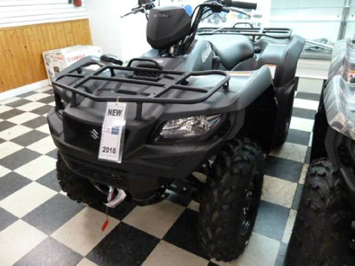 2018 Suzuki KingQuad 500AXi Power Steering Matte Black Photo 1 of 4