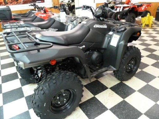 2018 Suzuki KingQuad 500AXi Power Steering Matte Black Photo 3 of 4