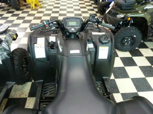 2018 Suzuki KingQuad 500AXi Power Steering Matte Black Photo 4 of 4