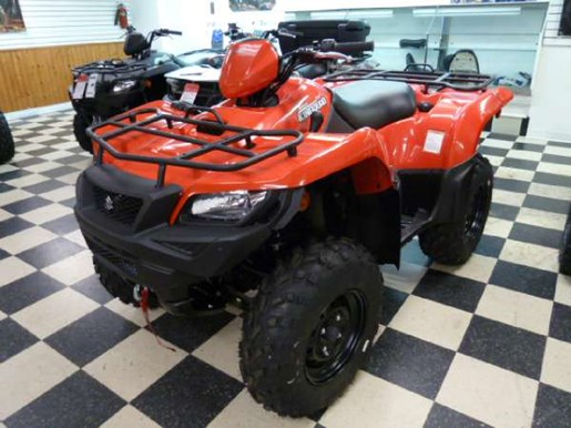2017 Suzuki KingQuad 500AXi - Flame Red Photo 1 of 4