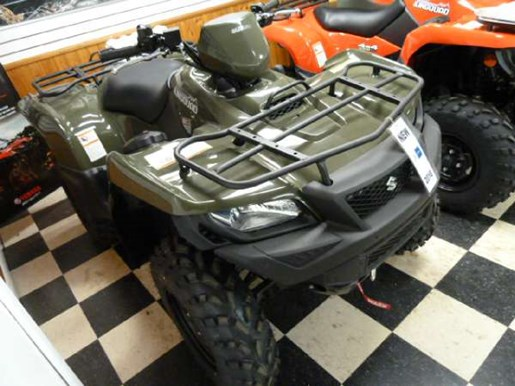 2018 Suzuki KingQuad 500AXi Green Photo 2 of 3