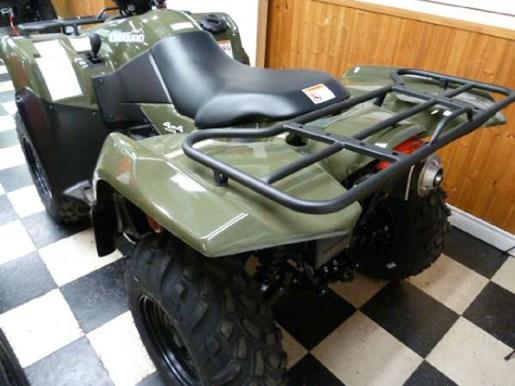 2018 Suzuki KingQuad 500AXi Green Photo 3 of 3