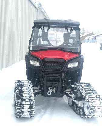 2016 Honda Pioneer 500 Red Photo 3 of 3