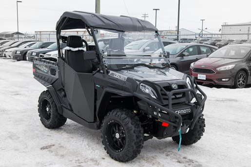 cfmoto uforce 800 eps lx with dump 2018 new atv for sale. Black Bedroom Furniture Sets. Home Design Ideas