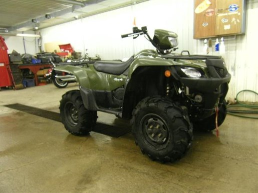 2014 Suzuki KingQuad 750AXi Power Steering Photo 1 of 5