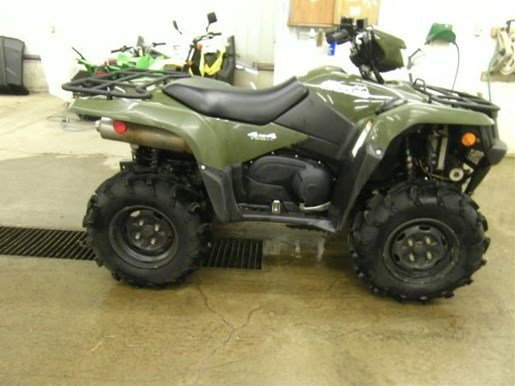 2014 Suzuki KingQuad 750AXi Power Steering Photo 2 of 5