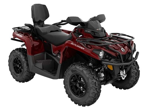 2018 Can-Am Outlander MAX XT 570 Intense Red Photo 1 of 1