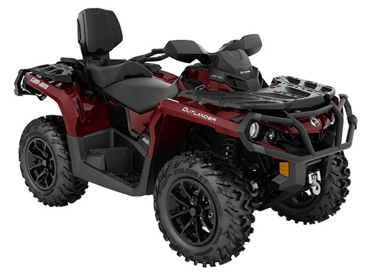 2018 Can-Am Outlander MAX XT 650 Intense Red Photo 1 of 1
