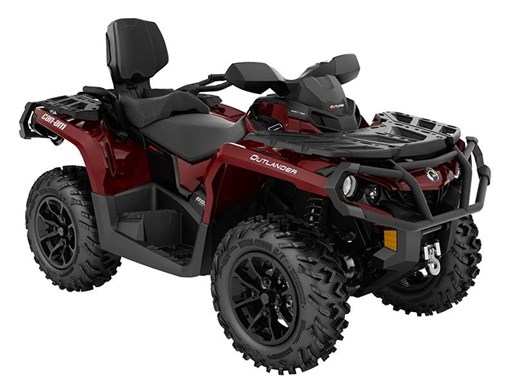 2018 Can-Am Outlander MAX XT 850 Intense Red Photo 1 of 1