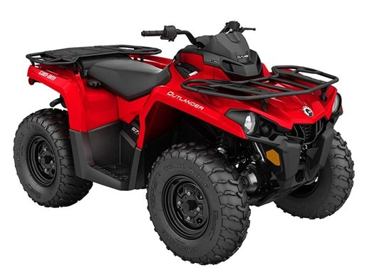 2018 Can-Am Outlander 570 Viper Red Photo 1 of 1