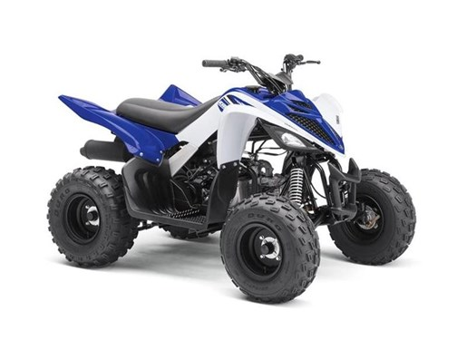 2018 Yamaha Raptor 90 Team Yamaha Blue / White Photo 1 of 1
