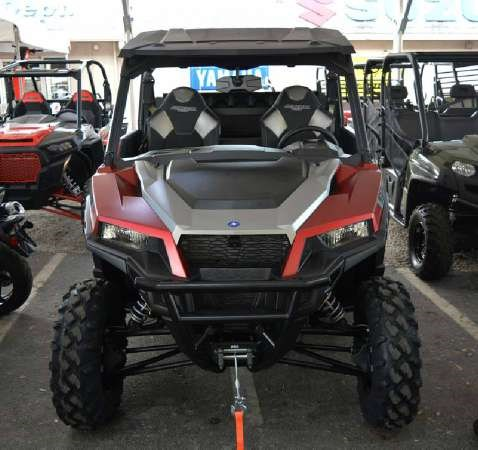 2018 Polaris General 1000 EPS Ride Command Edition Matte Sunset Photo 1 of 3