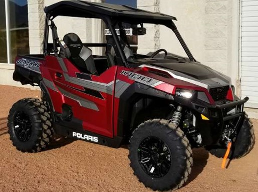 2018 Polaris General 1000 EPS Ride Command Edition Matte Sunset Photo 2 of 3
