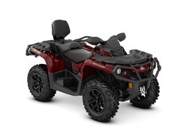 2018 Can-Am Outlander™ MAX XT™ 650 Intense Red Photo 1 of 1