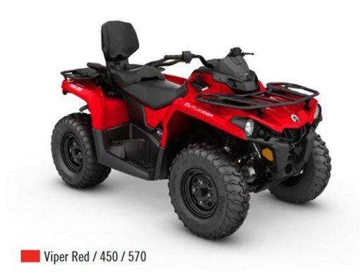 2018 Can-Am Outlander Max 450 Photo 1 of 8