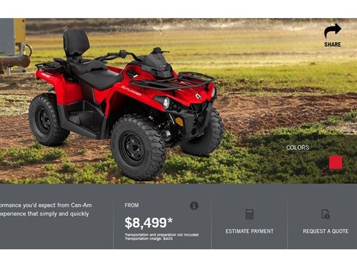 2018 Can-Am Outlander Max 450 Photo 4 of 8