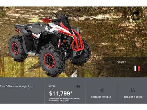 2018 Can-Am Renegade X mr 570 Photo 3 of 8