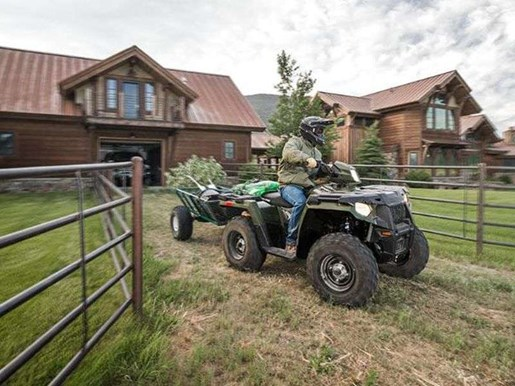 2018 Polaris SPORTSMAN 570 SAGE GREEN Photo 1 of 9