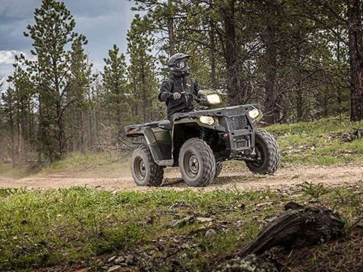 2018 Polaris SPORTSMAN 570 SAGE GREEN Photo 5 of 9