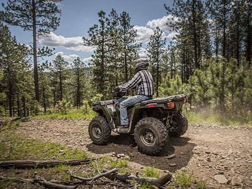 2018 Polaris SPORTSMAN 570 SAGE GREEN Photo 9 of 9