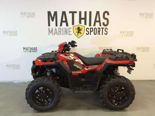 2018 Polaris SPORTSMAN XP 1000 HAVASU RED PEARL Photo 4 of 11