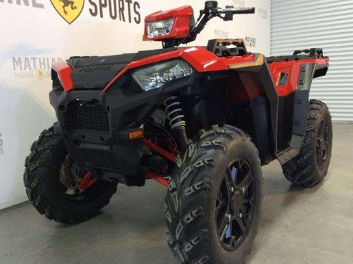 2018 Polaris SPORTSMAN XP 1000 HAVASU RED PEARL Photo 8 of 11