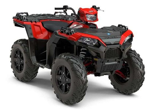 2018 Polaris SPORTSMAN XP 1000 HAVASU RED PEARL Photo 10 of 11
