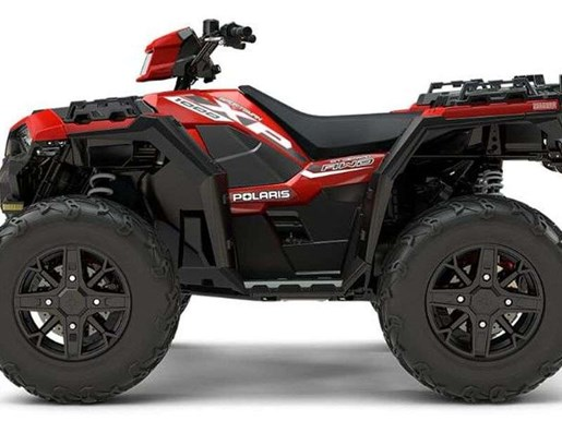 2018 Polaris SPORTSMAN XP 1000 HAVASU RED PEARL Photo 11 of 11