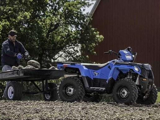 2018 Polaris SPORTSMAN 450 HO VELOCITY BLUE / 26$/sem Photo 3 of 9