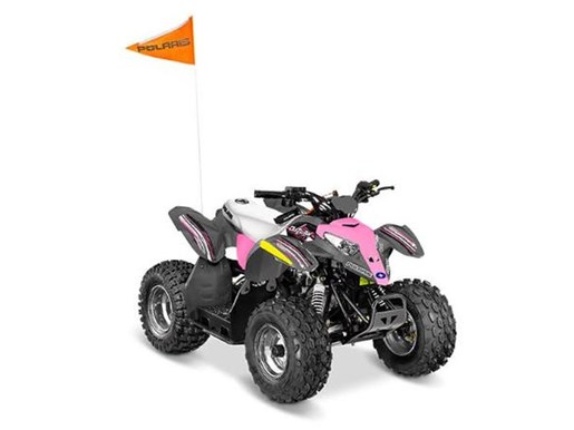 2018 Polaris OUTLAW 110 EFI GREY/PINK / 19$/sem Photo 4 sur 7