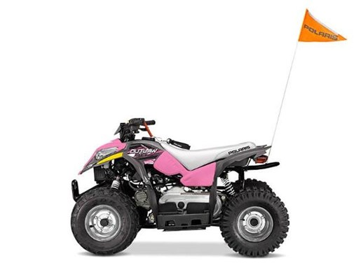 2018 Polaris OUTLAW 110 EFI GREY/PINK / 19$/sem Photo 5 sur 7