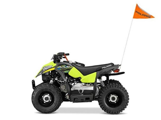 2018 Polaris OUTLAW 110 EFI GREY/PINK / 19$/sem Photo 7 sur 7
