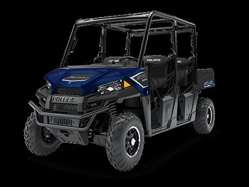 2018 Polaris RANGER CREW 570 4 EPS NAVY BLUE METALLIC / 38$/sem Photo 1 of 4