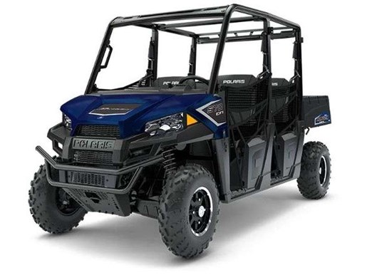 2018 Polaris RANGER CREW 570 4 EPS NAVY BLUE METALLIC / 38$/sem Photo 3 of 4