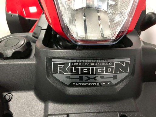 2018 Honda RUBICON 500 DCT IRS EPS / 27$/sem Photo 11 of 16