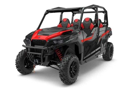 2018 Polaris GENERAL 4 1000 EPS BLACK PEARL / 64$/sem Photo 4 of 4