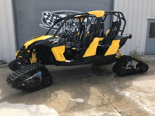 2014 Can-Am MAVERICK MAX X-RS DPS W/ TRACK KIT Photo 1 of 17