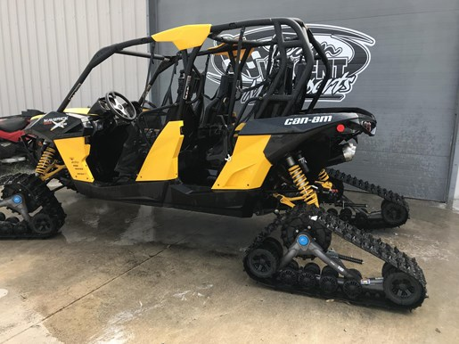 2014 Can-Am MAVERICK MAX X-RS DPS W/ TRACK KIT Photo 2 of 17