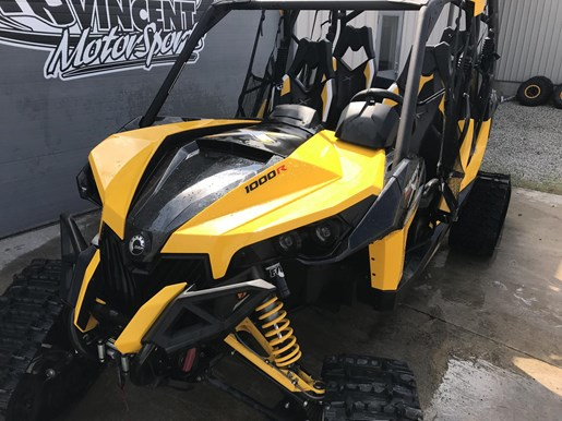 2014 Can-Am MAVERICK MAX X-RS DPS W/ TRACK KIT Photo 5 of 17