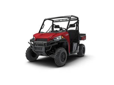 2018 Polaris Ranger XP® 900 EPS Solar Red Photo 1 of 1