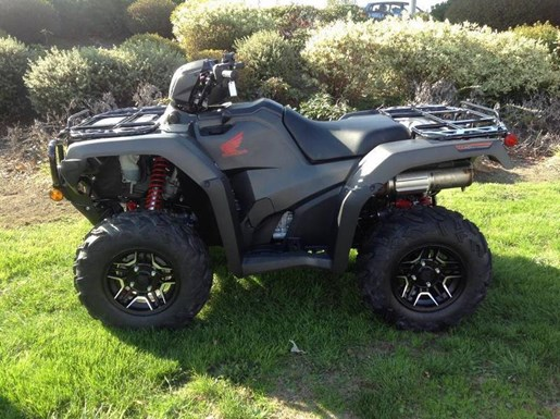 2018 Honda TRX500 Rubicon DCT Deluxe Photo 3 of 4