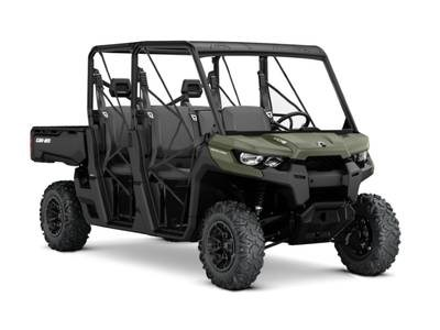2018 Can-Am Defender MAX DPS™ HD8 Green Photo 1 sur 1
