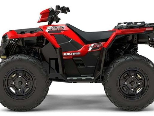 2018 Polaris SPORTSMAN 850 INDY RED Photo 3 of 9