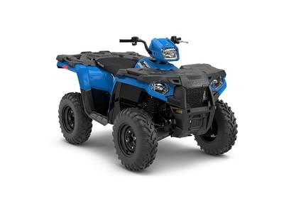 2018 Polaris Sportsman® 450 H.O. EPS Velocity Blue Photo 1 of 1