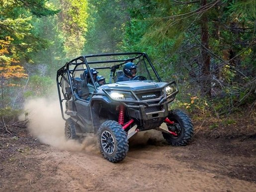 2018 Honda Pioneer 1000-5 Deluxe LE Photo 4 of 8
