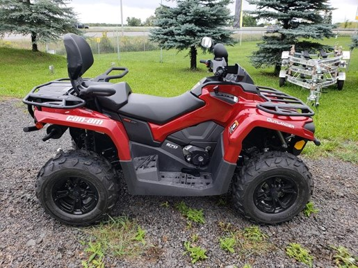 2018 Can-Am Outlander™ MAX XT™ 570 Photo 1 of 17