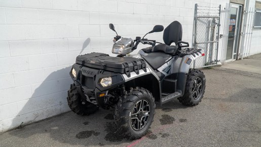2018 Polaris Sportsman® Touring XP 1000 Turbo Silver Photo 3 of 4
