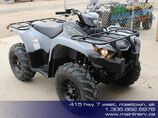 2018 Yamaha Kodiak 450 EPS Gray (aluminum mag wheels Photo 1 of 9